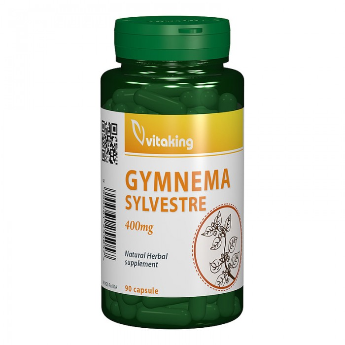 Gymnema Sylvestre 400 mg (90 tablete), Vitaking