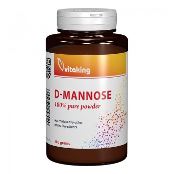 Pulbere D-manoza (100 grame), Vitaking