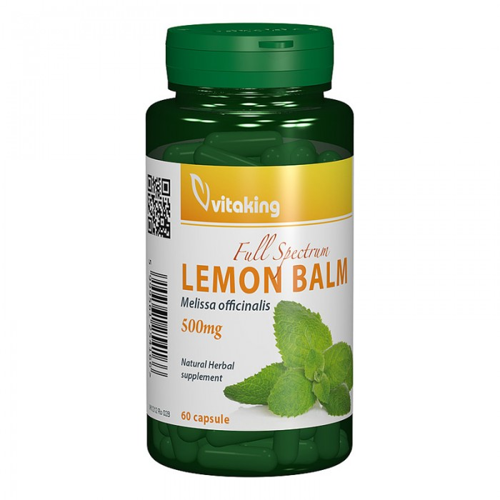 Roinita 500 mg Lemon Balm (60 capsule), Vitaking