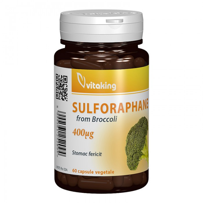 Sulforaphane din broccoli (60 capsule), Vitaking