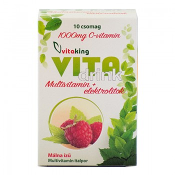Vitadrink Bautura cu electroliti (10 plicuri), Vitaking