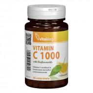 Vitamina C 1000 mg cu bioflavonoide, acerola si macese (30 comprimate), Vitaking