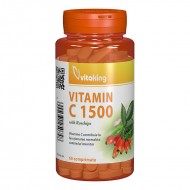 Vitamina C 1500 mg cu macese (60 comprimate), Vitaking