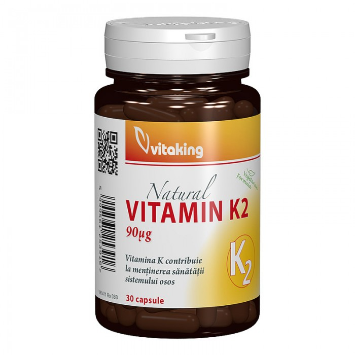 Vitamina K2 90 mcg (30 capsule), Vitaking