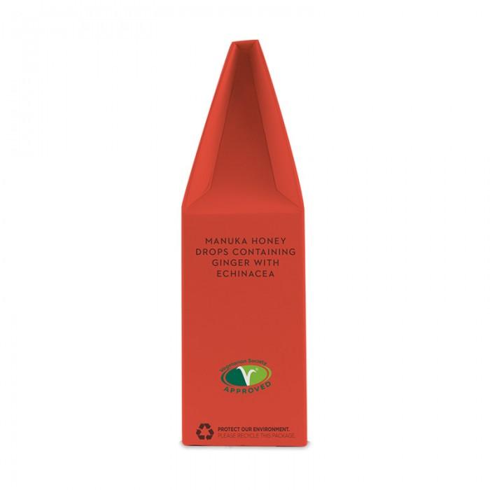Bomboane Ecologice - dropsuri cu Miere de Manuka, Ghimbir si Echinacea (120g), Wedderspoon