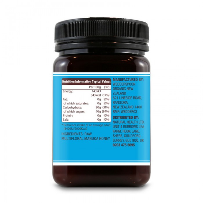 Miere de Manuka KFactor 12 RAW (500 grame)
