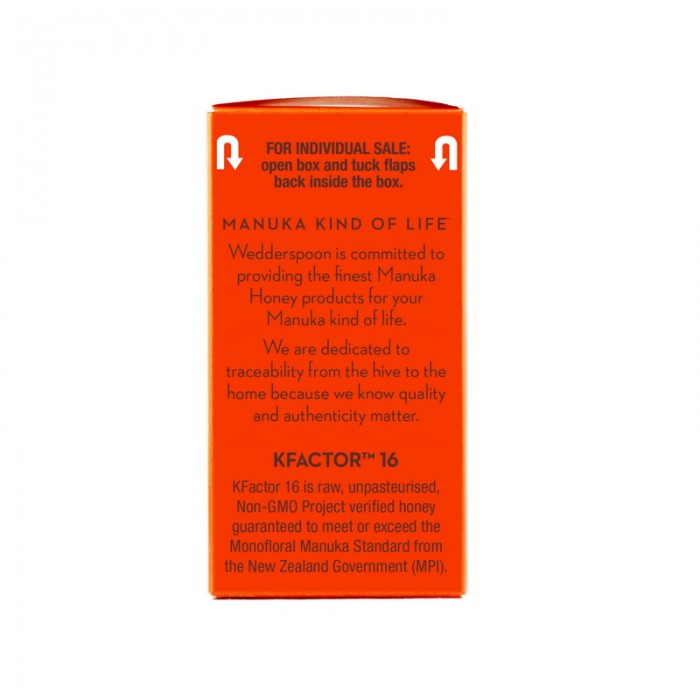 Miere De Manuka Activa 16+ RAW 100% Naturala (24 plicuri x 5grame)