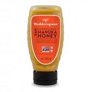 Miere de Manuka KFactor 16 RAW - Squeezy (340 grame), Wedderspoon