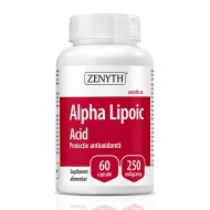 Acid Alpha Lipoic 250 mg (60 capsule), Zenyth Pharmaceuticals