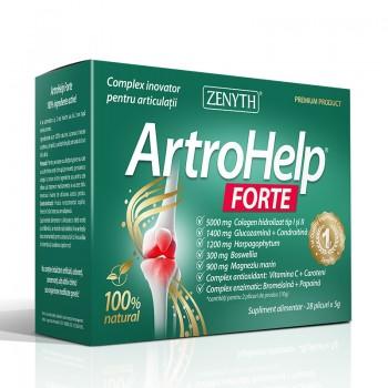 ArtroHelp Forte 5 grame (28 plicuri), Zenyth Pharmaceuticals