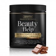 Beauty Help cu aroma de ciocolata 300 grame, Zenyth Pharmaceuticals
