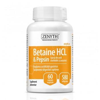 Betain HCI & Pepsin 580 mg (60 capsule), Zenyth Pharmaceuticals