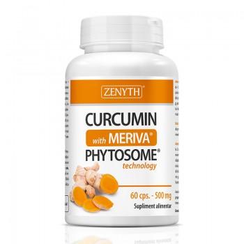 Curcumin cu Meriva 500 mg (60 capsule), Zenyth Pharmaceuticals