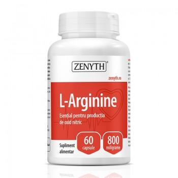 L-Arginine 800 mg (60 capsule), Zenyth Pharmaceuticals