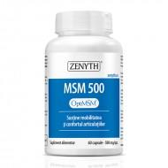 MSM 500 mg (60 capsule), Zenyth Pharmaceuticals