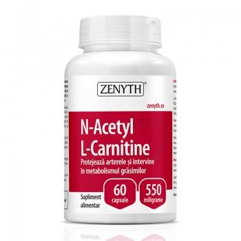 N-Acetyl L-Carnitine 550 mg (60 capsule), Zenyth Pharmaceuticals