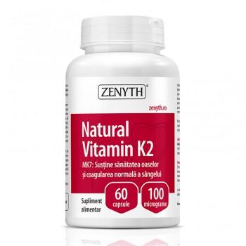 Natural Vitamin K2 100 mcg (60 capsule), Zenyth Pharmaceuticals