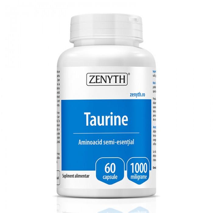 Taurine 1000 mg (60 capsule), Zenyth Pharmaceuticals