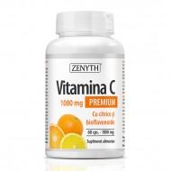 Vitamina C Premium 1000 mg cu citrice si bioflavonoide (60 capsule), Zenyth Pharmaceuticals