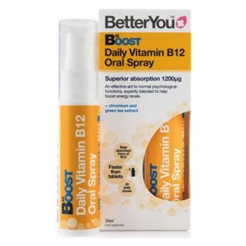 Boost B12 Oral Spray (25ml), BetterYou