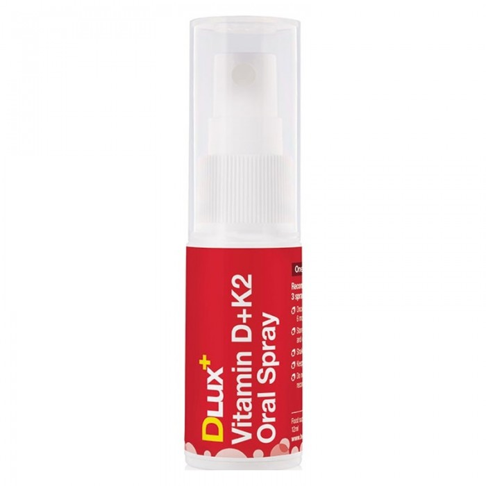 DLux+ Vitamin D3+K2 Oral Spray (12ml), BetterYou