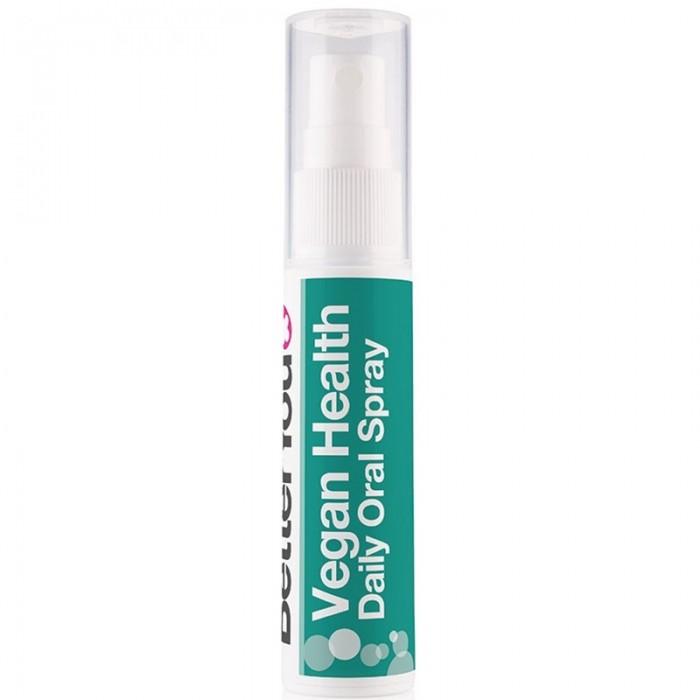 Vegan Health Oral Spray (25ml), BetterYou