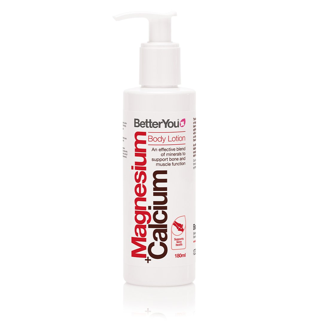 Magnesium+ Calcium Body Lotion (180 ml), BetterYou