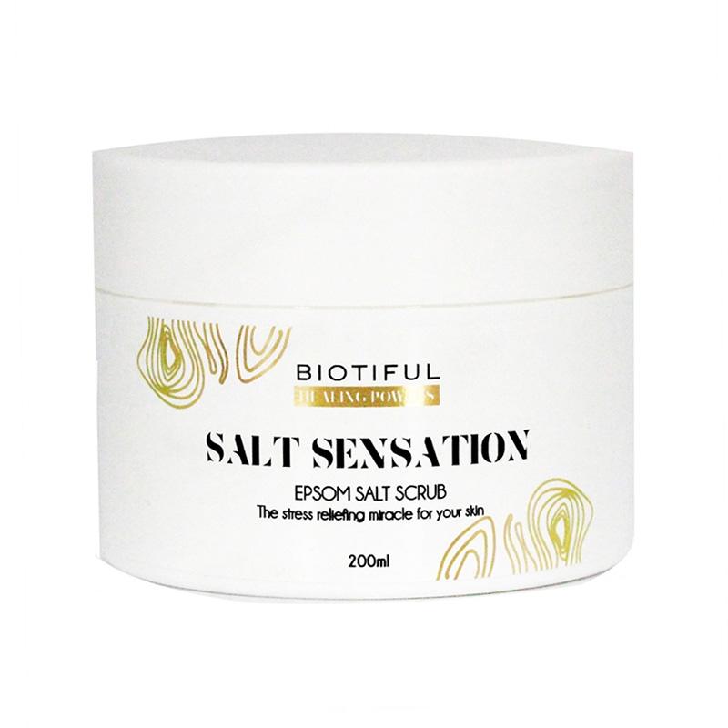 Salt Sensation Body Scrub (200 ml), Biotiful