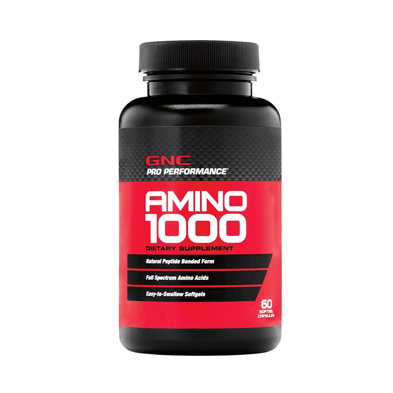 Amino 1000 Aminoacizi (60 capsule), GNC Pro Performance