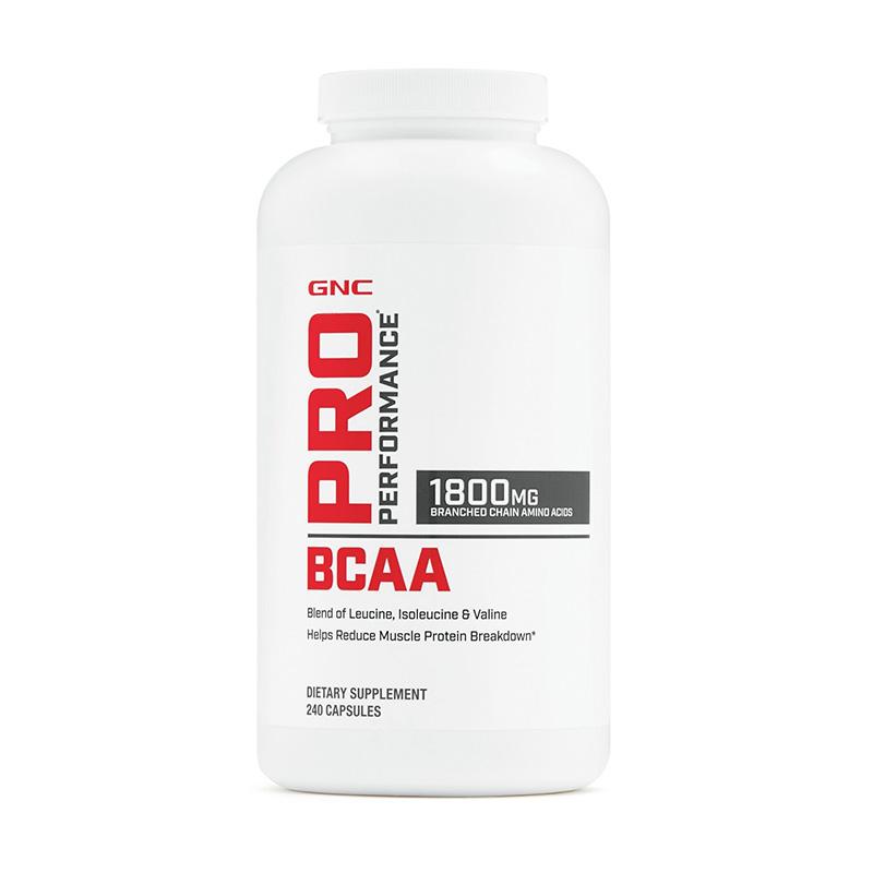 BCAA Aminoacizi 1800 (240 capsule), GNC Pro Performance