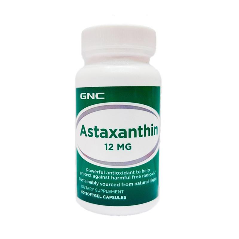 Astaxantina 12 mg (60 capsule), GNC