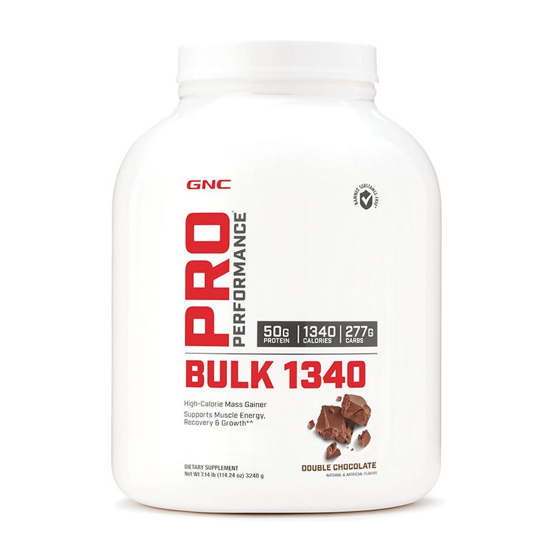 Bulk 1340 Proteina din zer cu aroma de ciocolata (3240 grame), GNC Pro Performance