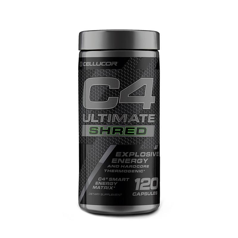 Cellucor C4 Ultimate Shred Formula pre-workout (120 capsule), GNC
