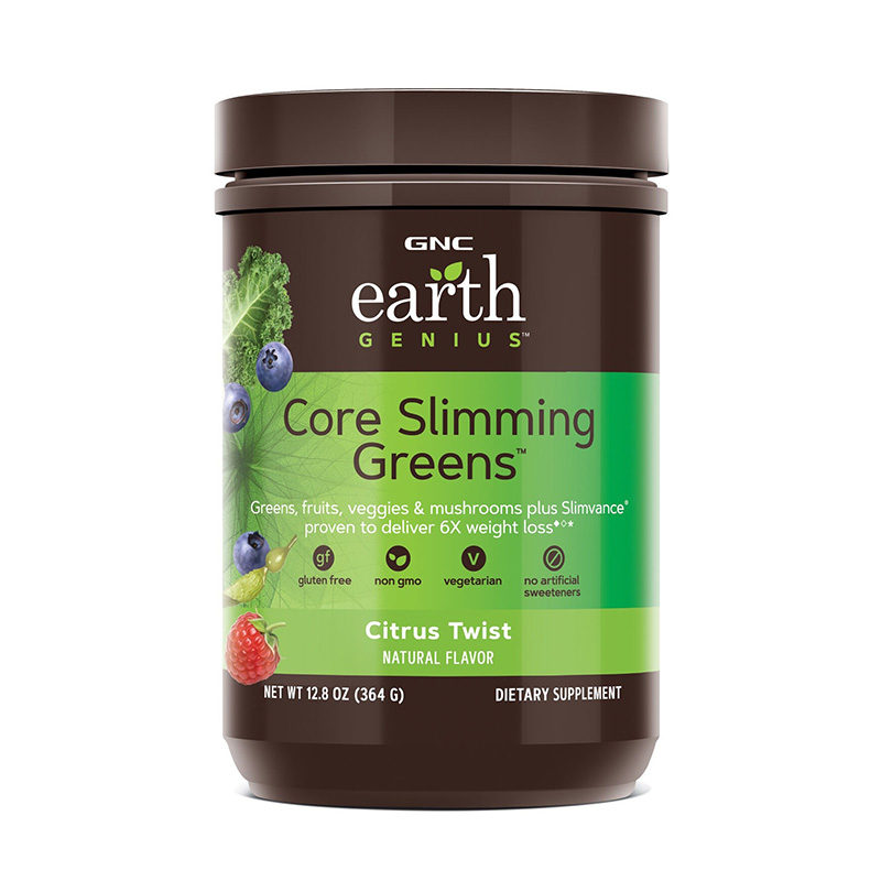 Complex vegetal pentru controlul greutatii cu aroma de citrice (364 grame), GNC Earth Genius