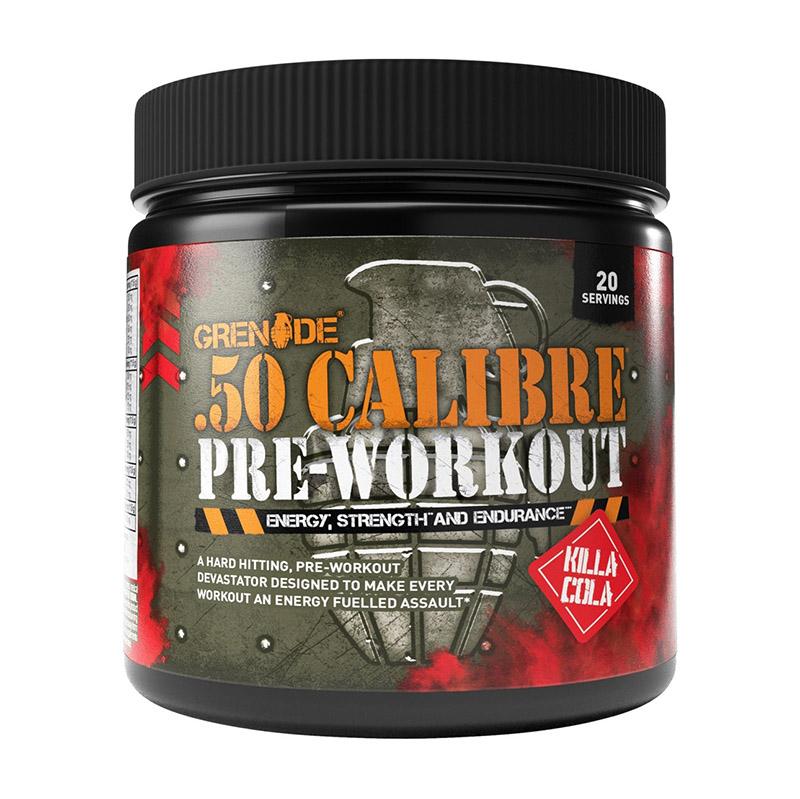 Grenade .50 Calibre Pre-workout cu aroma de Killa Cola (232 grame), GNC