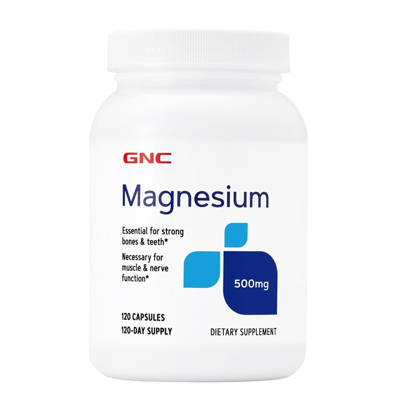 Magneziu 500 mg (120 capsule), GNC