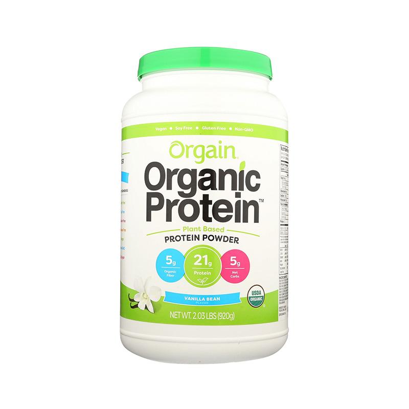Orgain Proteina organica vegana cu aroma de vanilie (920 grame), GNC