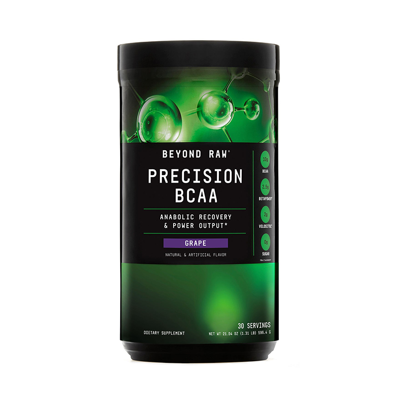 Precision BCAA Aminoacizi cu aroma de struguri (596.4 grame), GNC Beyond Raw