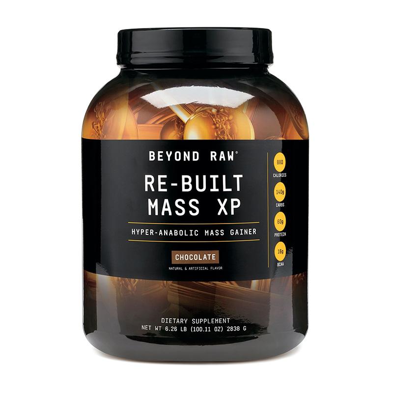 Re-Built Mass XP Proteina din zer cu aroma de ciocolata (2838 grame), GNC Beyond Raw