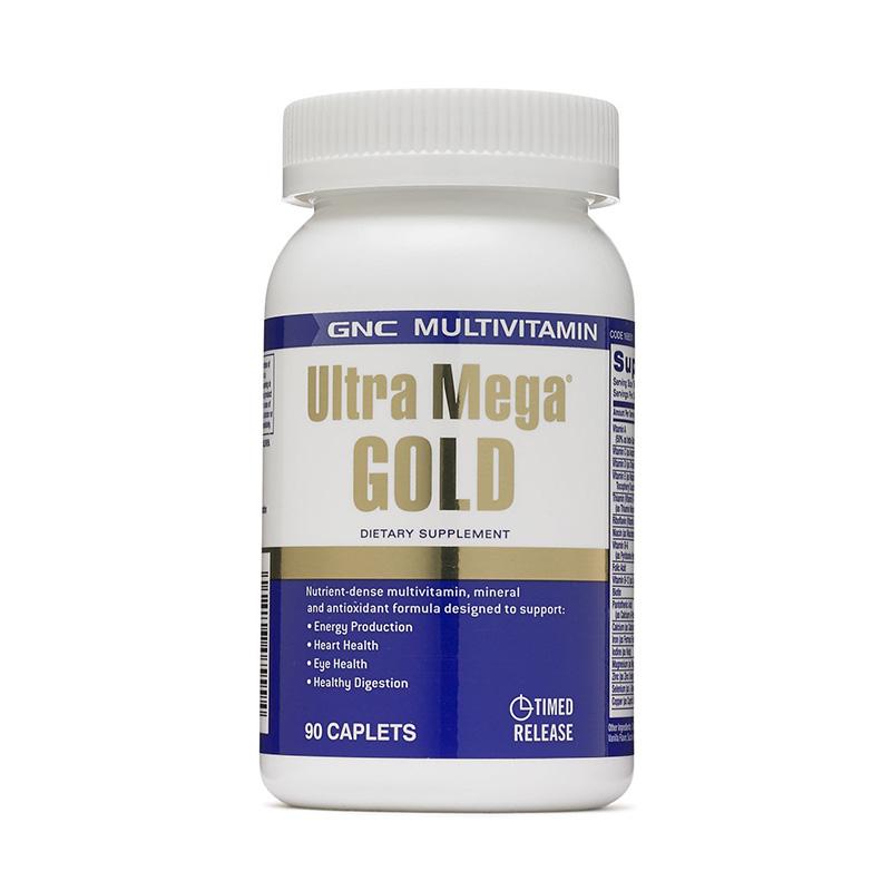 Ultra mega gold multivitamine si minerale (90 capsule), GNC