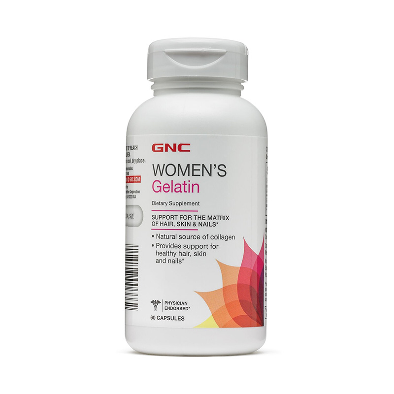 Women's Gelatina 778 mg (60 capsule), GNC