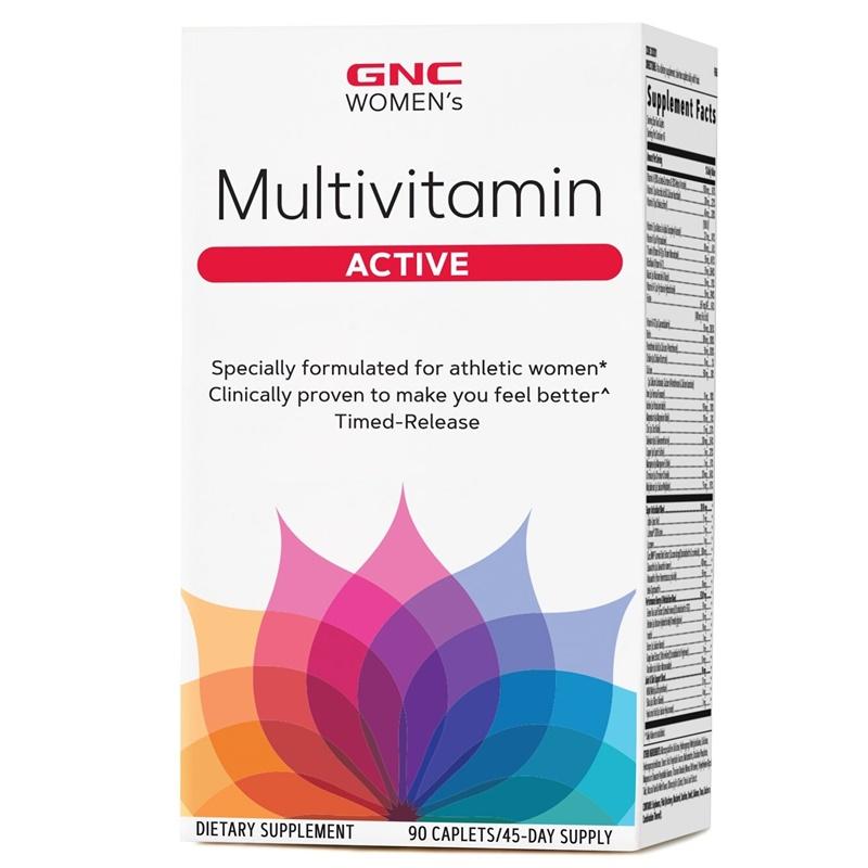 Women's Multivitamin Active (90 capsule), GNC