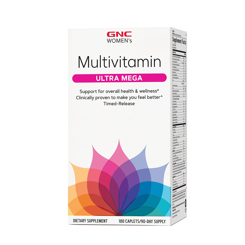 Women's Multivitamine Ultra Mega (180 capsule), GNC