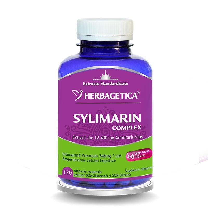 Silymarin 80/50 Detox Forte (120 capsule), Herbagetica
