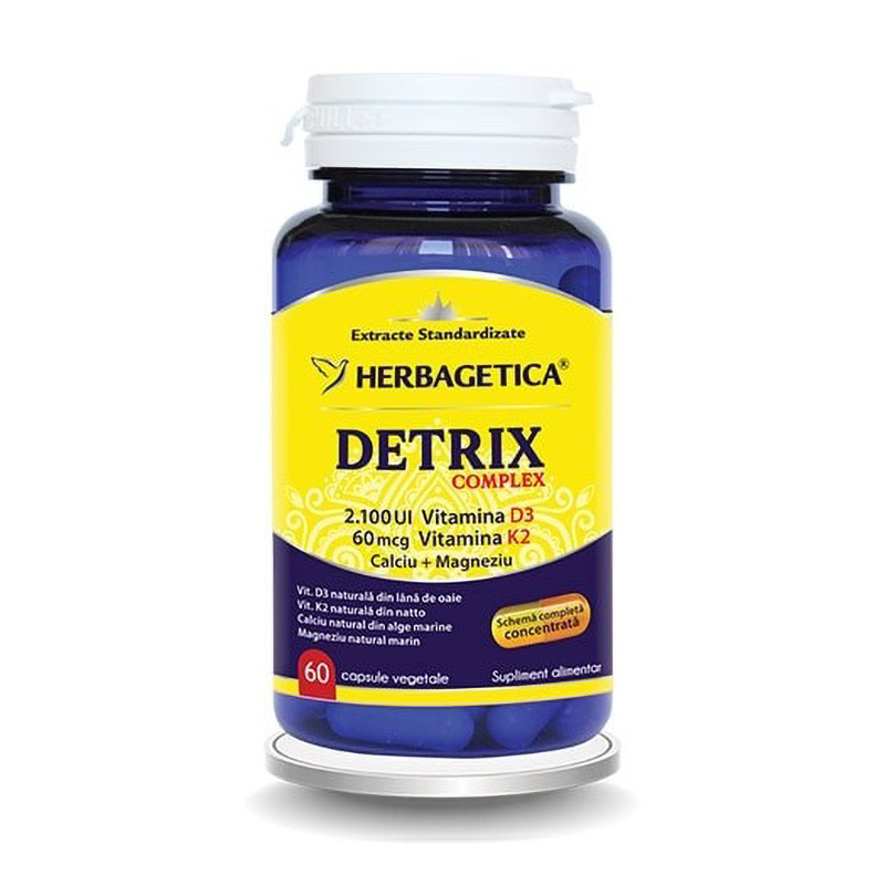 Detrix Complex (60 capsule), Herbagetica
