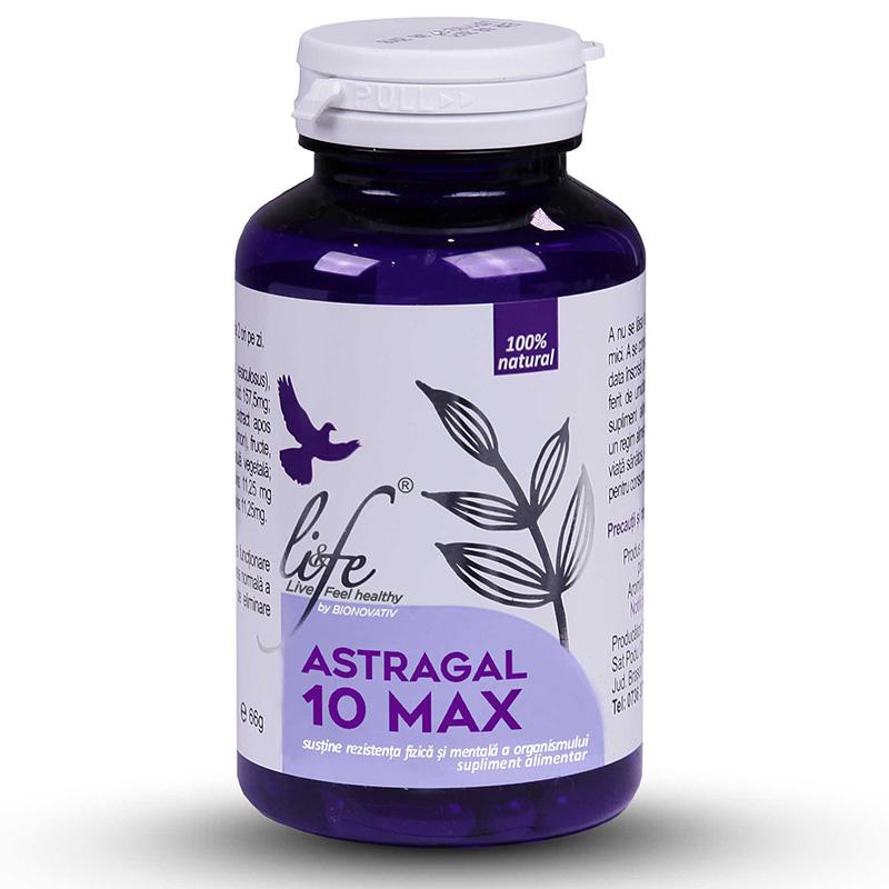 Astragal 10 MAX (120 capsule), Life Bio