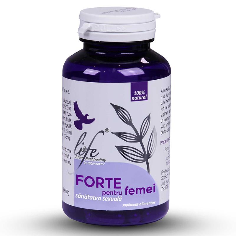 Forte pentru femei (120 capsule), Life Bio
