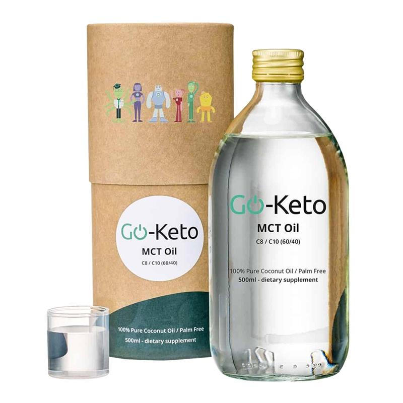 Go-Keto Ulei de Cocos MCT Premium (500 ml), LifeExtension