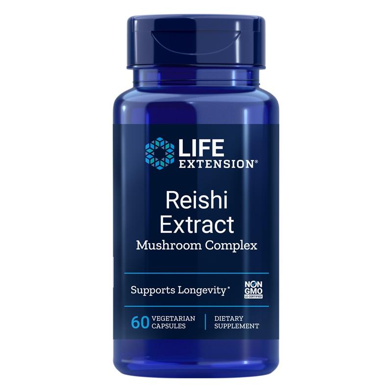 Reishi Extract Mushroom Complex (60 capsule), LifeExtension