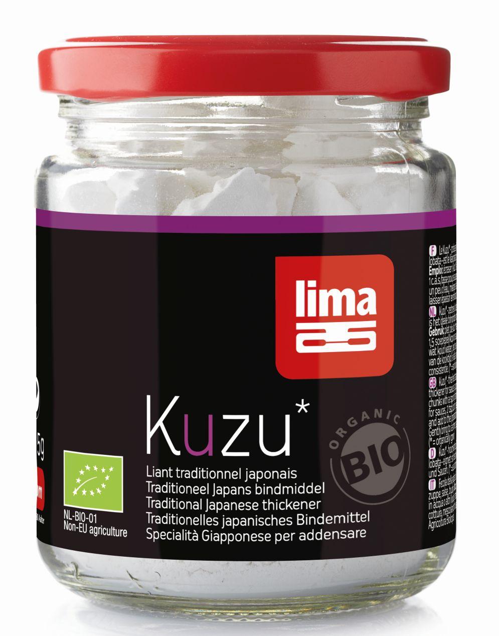 Kuzu (amidon) bio (125 grame), Lima